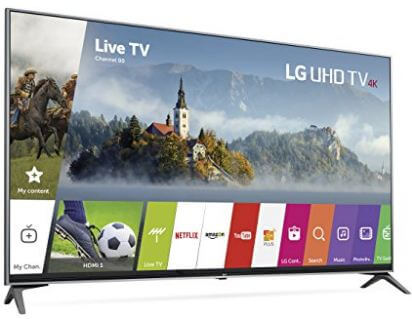 Black Friday 2017 deals on LG 4K ultra HD TV