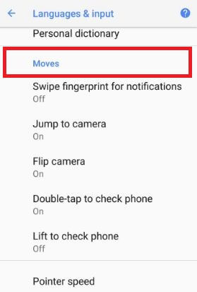 Enable android 8.0 Oreo gestures on Pixel 2