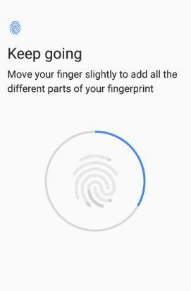 Set up fingerprint on OnePlus 5T