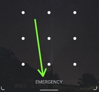 Tap on Emergency on the lock screen to add info on Pixel 2 lock screen