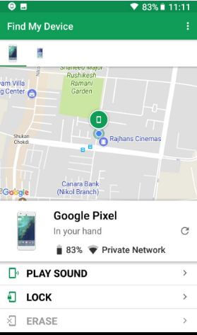 How to find lost Pixel 2 and Pixel 2 XL Oreo