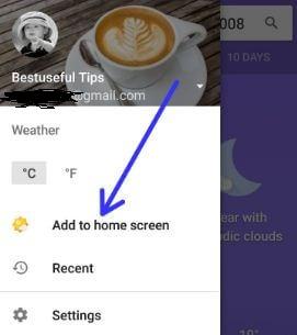 Add weather widget to Pixel 2 home screen