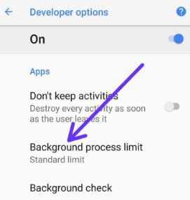 Android O background limitations