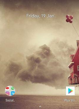 Hide Pixel 2 XL status bar icons