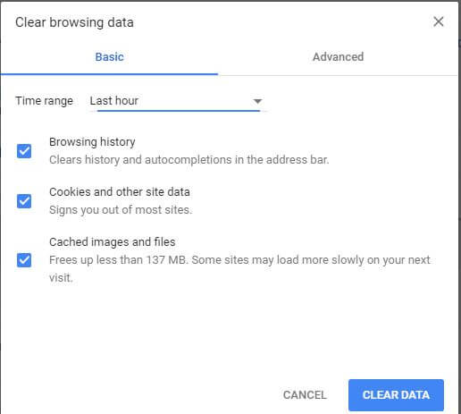 How to fix Gmail stuck on loading in Chrome