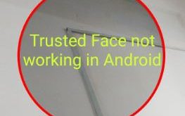 How to fix trusted face not working on android Oreo
