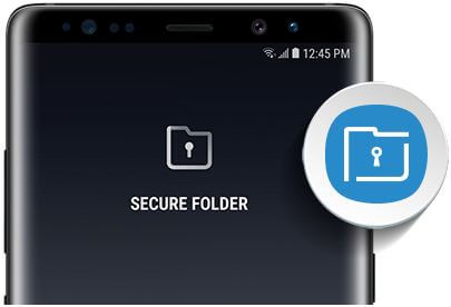 How to move files to secure folder on Note 8