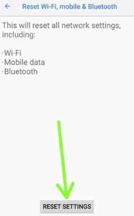 Reset settings on Pixel 2 XL Oreo