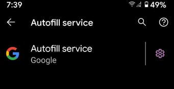 How to Enable Autofill in Stock Android 11 OS