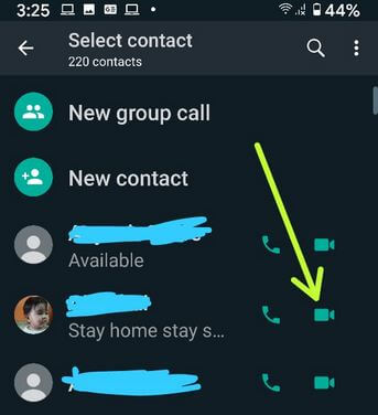How to Make Group Video Calls in WhatsApp Android With Up to 8 People