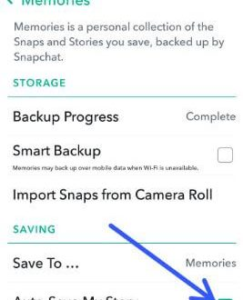 How to automatically save Snapchat stories in android phone