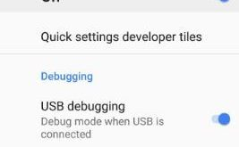How to enable USB debugging on galaxy S9 and galaxy S9 Plus