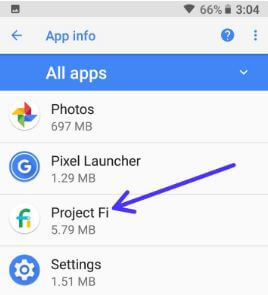 Opena stock app in android Oreo