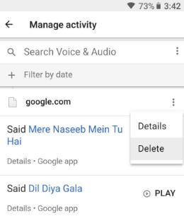 Remove OK Google voice search on android phone