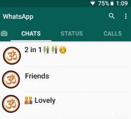 Add group description on WhatsApp android