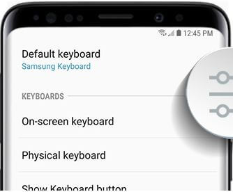 How to adjust keyboard size on Galaxy S9 and Galaxy S9 plus