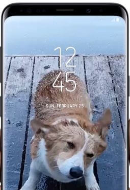 How to change video size on galaxy S9 plus and galaxy S9