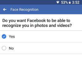 How to use Facebook face recognition in android and PC