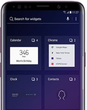 How to add widgets Galaxy S9 and Galaxy S9 Plus
