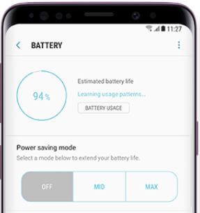 How to check battery usage on Galaxy S9 and Galaxy S9 plus