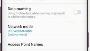 How to turn on data roaming Galaxy S9 and Galaxy S9 plus