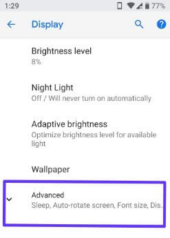 Enable Ambient display in android P 9.0