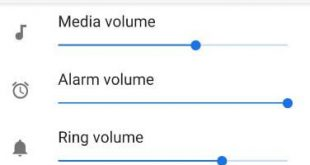 How to adjust ringtone volume in android P 9.0