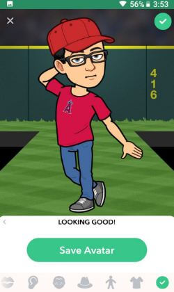 How to create and use Bitmoji on Snapchat android