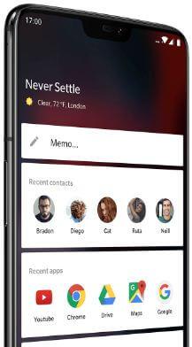 How to customize Shelf in OnePlus 6 Oxygen OS