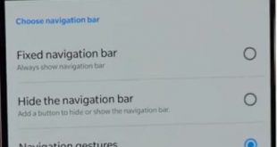 How to enable Navigation gestures on OnePlus 6