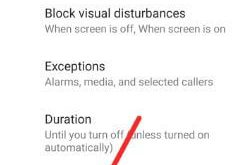 How to use Do Not Disturb on android P 9.0