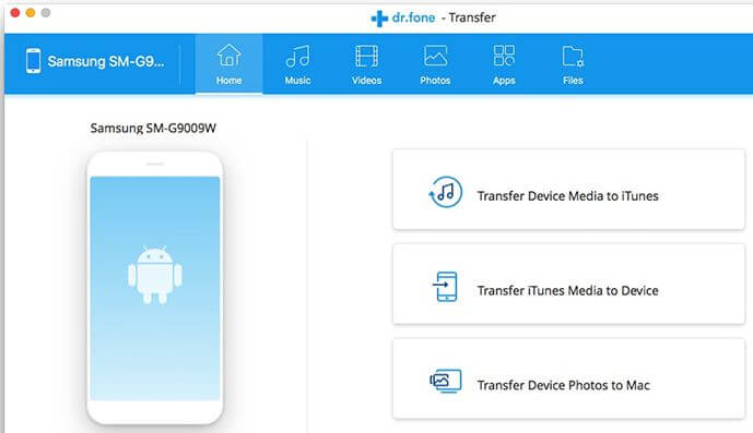 Samsung File Transfer Mac