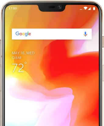 How to display battery percentage in OnePlus 6 status bar