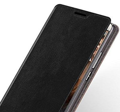 Magnetic Flip Cover Leather Wallet Case for OnePlus 6