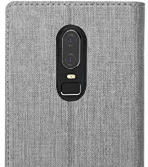 OnePlus 6 Flip Cover with PU Leather Slim