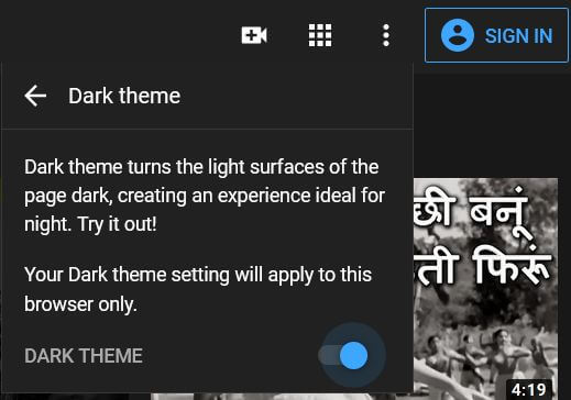 How to Enable YouTube Dark Mode on PC