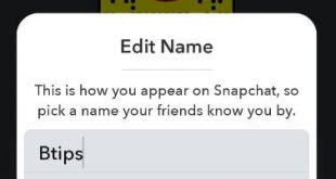 How to change Snapchat username on android