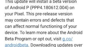 How to install Android P Beta 3 on Google Pixel XL
