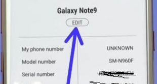 How to change device name on galaxy Note 9 Oreo