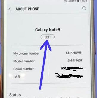Samsung Note 8 Imei Change