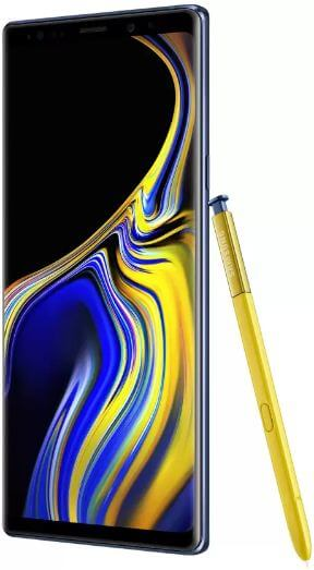 How to turn on blue light filter on Galaxy Note 9