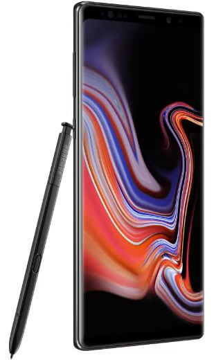 How to turning flash on Galaxy Note 9