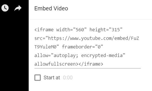 Embed YouTube video in WordPress post