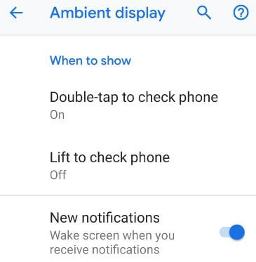 Hide notifications on lock screen android Pie 9.0 device