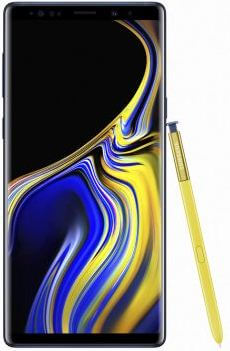 How to change default storage location on Note 9 contacts