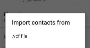How to import contacts in Android 9 Pie