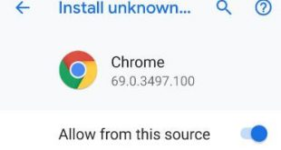 How to enable unknown sources on Pixel 3