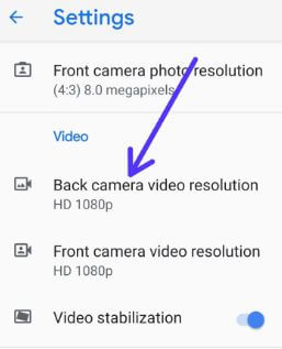 How to record 4K video on Google Pixel 3