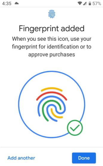 How to set up and use fingerprint on Pixel 3