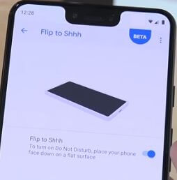 Turn on Flip to Shhh on Pixel 3 Pie